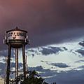Los Lunas Water Tower by Angus Hooper Iii