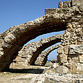 Lost City Of Salamis Cyprus  by Ros Drinkwater