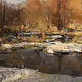 Lost In Spring by Tibor Nagy