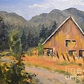 Lost Valley Barn by Gail Heffron