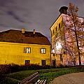 Lotrscak Tower Zagreb Famous Landmark by Brch Photography