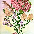Lots Of Flowers by Flamingo Graphix John Ellis
