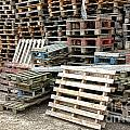 Lots Of Pallets by Olivier Le Queinec