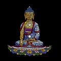 Lotus Buddha by Tim Gainey