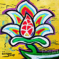 Lotus Flower by Genevieve Esson