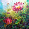 Lotus Light by Marie Green