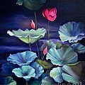 Lotus On Dark Water by Marlene Book