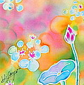 Lotus Pond by Hisayo Ohta