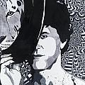 Lou Reed In Pools by Jenny Wiest