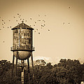 Loudon Water Tower by Melinda Fawver