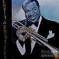 Louis Armstrong by Chelle Brantley