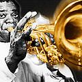 Louis Armstrong by Tony Rubino