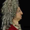Louis Xiv 1638-1715 1706 Mixed Media by or Benoit du Cercle, Antoine Benoist