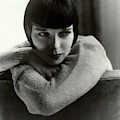 Louise Brooks On A Chair by Edward Steichen