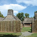 Louisiana Fort by Lew Davis