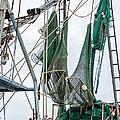 Louisiana Shrimp Boat Nets by Steve Harrington