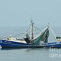 Louisiana Shrimp Trawler by Bradford Martin