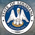 Louisiana State Seal by Movie Poster Prints