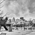 Louisville Kentucky Skyline Bnw by David Haskett II