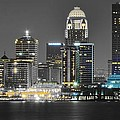 Louisville Lights Up by Frozen in Time Fine Art Photography