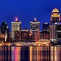 Louisville Skyline At Dusk by Matthew Winn