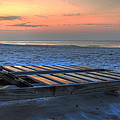 Lounge Closeup On Beach ... by Michael Thomas