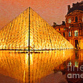 Louvre Illuminated by Safran Fine Art
