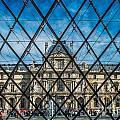 Louvre Museum In Paris by Sabino Parente