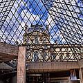 Louvre Museum Paris France by Jon Berghoff