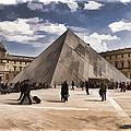 Louvre Museum - Paris by Jon Berghoff