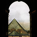 Louvre Paris by Evie Carrier