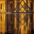 Louvre Sunset by Brian Jannsen
