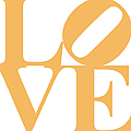 Love 20130707 Orange White by Wingsdomain Art and Photography