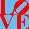 Love 20130707 Red Blue by Wingsdomain Art and Photography