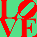 Love 20130707 Red Green by Wingsdomain Art and Photography