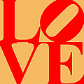 Love 20130707 Red Orange by Wingsdomain Art and Photography
