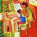 Love A Piano 2 by Marilyn Jacobson