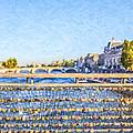 Love Across The Seine by Liz Leyden