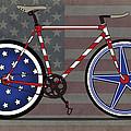 Love America Bike by Andy Scullion