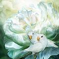 Love  Among The Peonies by Carol Cavalaris