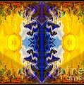 Love And Loss Abstract Healing Artwork by Omaste Witkowski