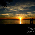 Love At Sunset by Ola Allen