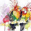 Love Birds by Edgar Rafael