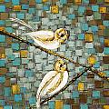 Love Birds- Warm Tone by Susanna Shaposhnikova