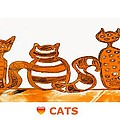 Love Cats 2 by Anne Costello
