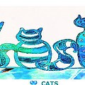 Love Cats by Anne Costello