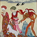 Love Desire And Death by Georges Barbier