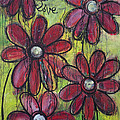 Love For Five Daisies by Laurie Maves ART