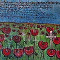 Love For Flanders Fields Poppies by Laurie Maves ART