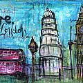 Love For London by Laurie Maves ART